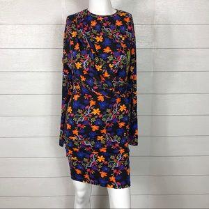 Zara Long Sleeve Bodycon Dress Size Small